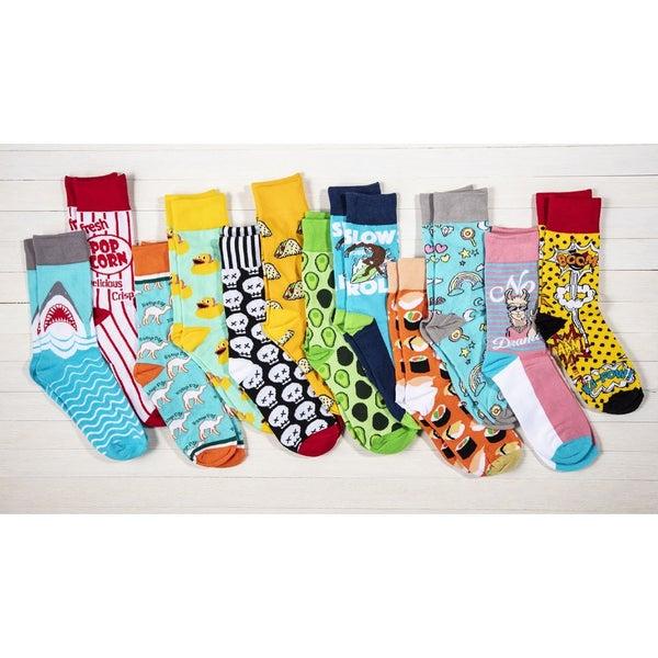 Two Left Feet Assorted Novelty Socks