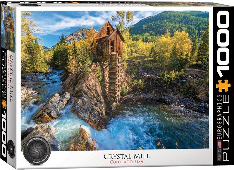 Crystal Mill 1000-Piece Puzzle