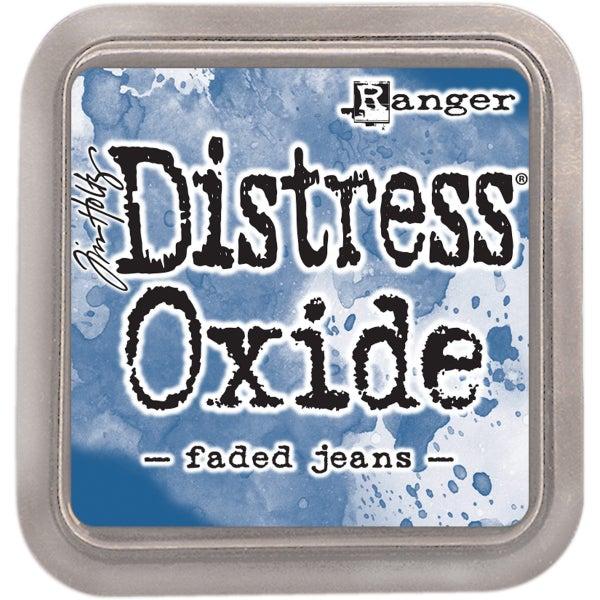 Tim Holtz Distress Oxide Ink Pad, Faded Jeans