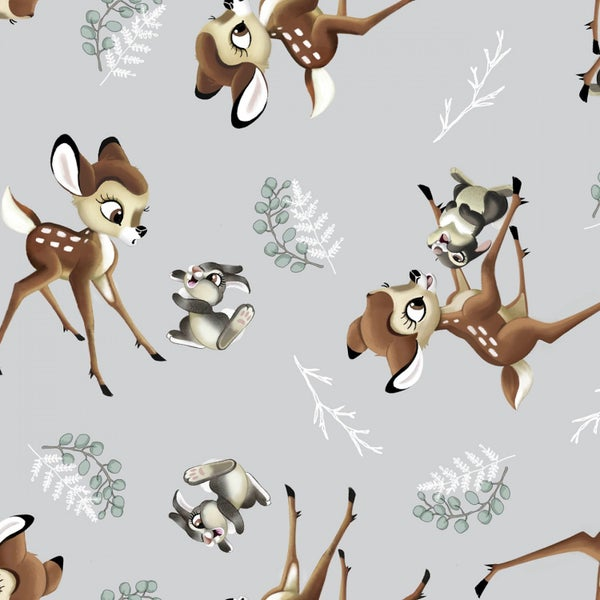1 Yard Cut - Disney Bambi and Thumper Licensed Fabric