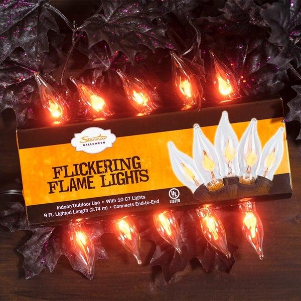 Flickering Flame Light Set- 10ct