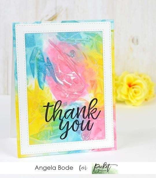 Picket Fence Studios- Thank You Stamp Set