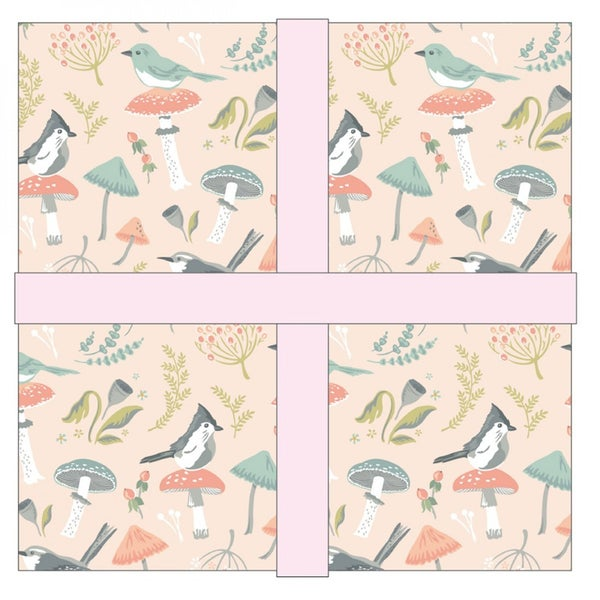 Woodland Songbirds 5 inch Charm Pack by Poppie Cotton