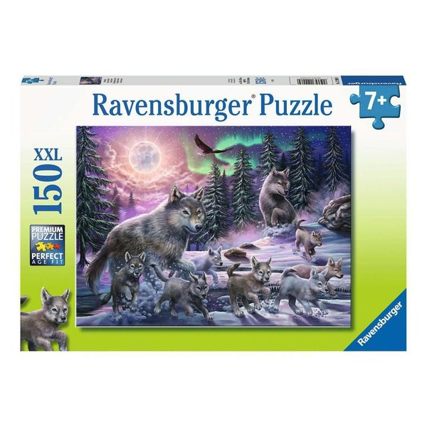 Northern Wolves Puzzle, 150 pieces