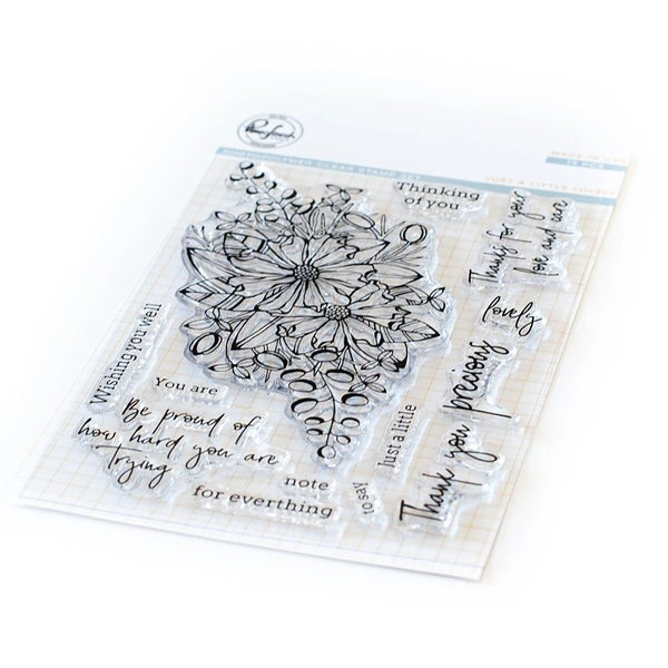 Pink Fresh Studios- Just a Little Lovely Stamp Set