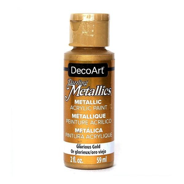 Dazzling Metallics Acrylic Paint by Deco Art, 2 oz. (Choose Color)
