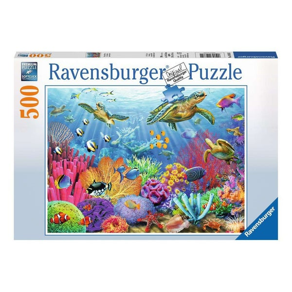 Tropical Water Puzzle, 500pcs