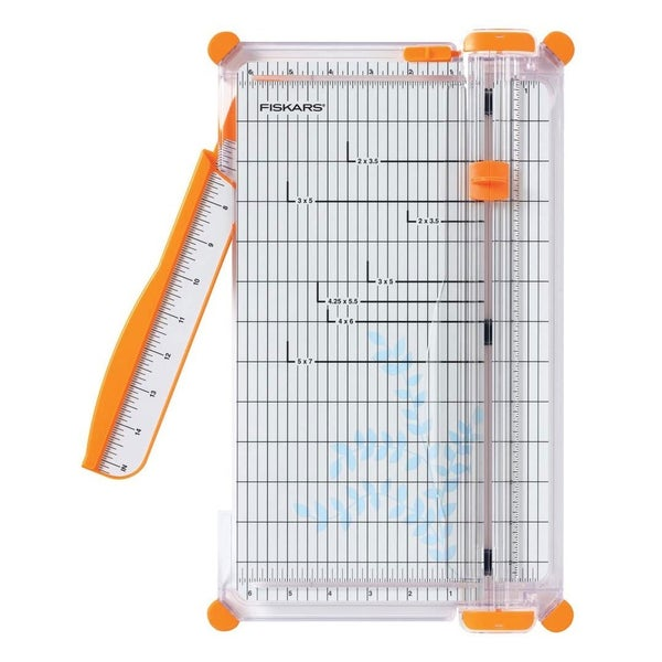 Fiskars SureCut Deluxe Craft Paper Trimmer, 12 Inch