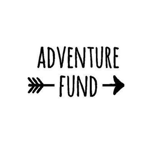 Rub- On Vinyl- Adventure Fund, Black
