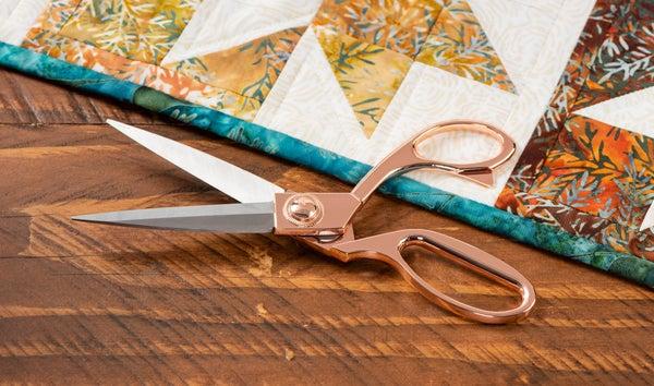Ultra Sharp Rose Gold 8 inch Scissors