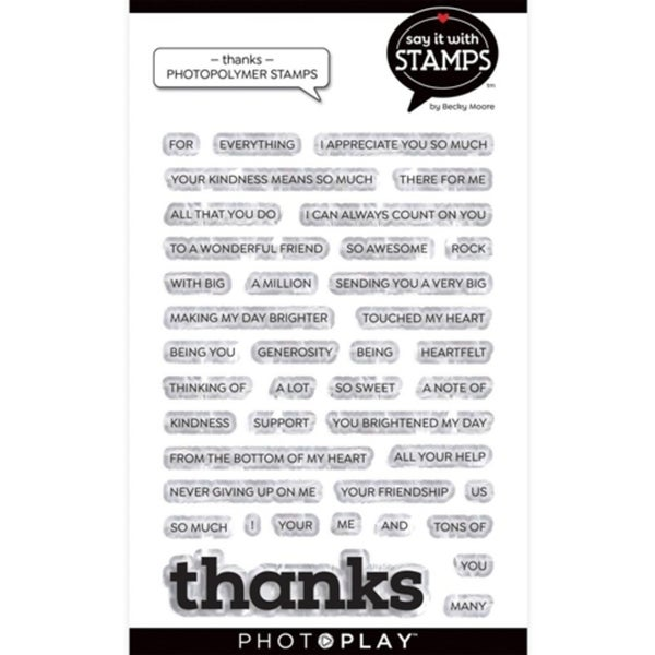 PhotoPlay- Thanks Stamp Set