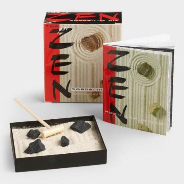 Mini- Zen Gardening Kit