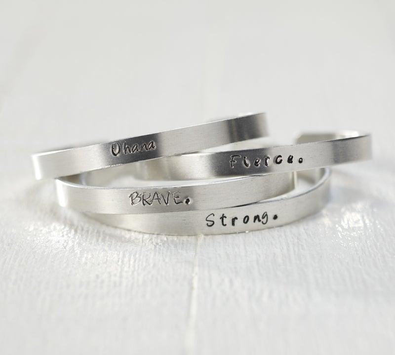 Metal Stamping Bracelet Kit