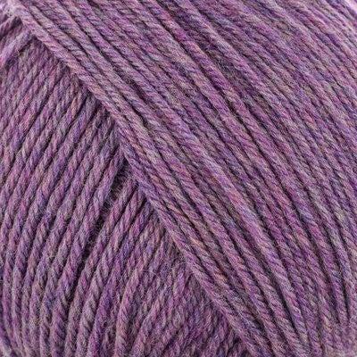 220 Superwash Petunia Heather 100% Wool 220 yards