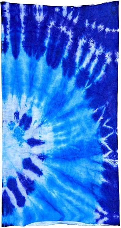 Seamless Bandana Tie Dye, Face Cover