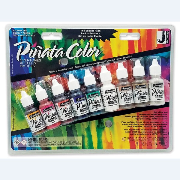 Jacquard Alcohol Ink Pinata Overtones Exciter Pack