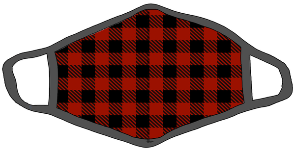 Face Cover Lumberjack Plaid