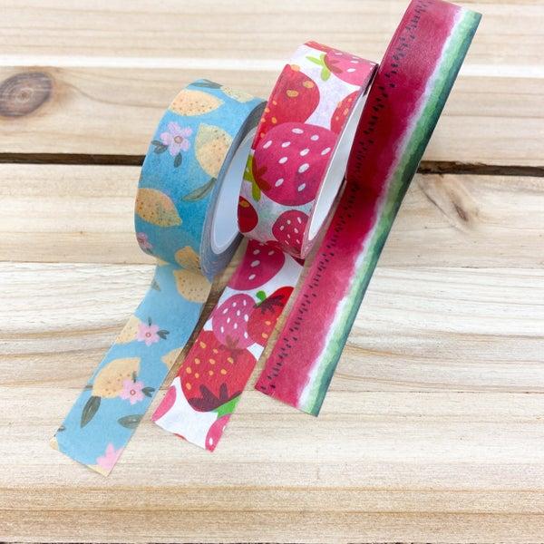 Washi Tape 3pk-  Fruity Fun