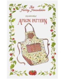 Reversible Apron Pattern- Paisley Pincushion