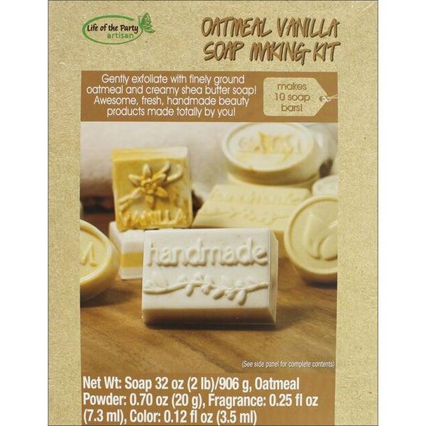 Soap Making Kit- Vanilla Oatmeal