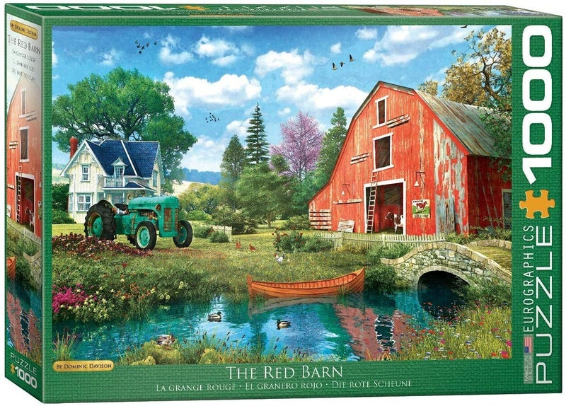The Red Barn by Dominic Davison