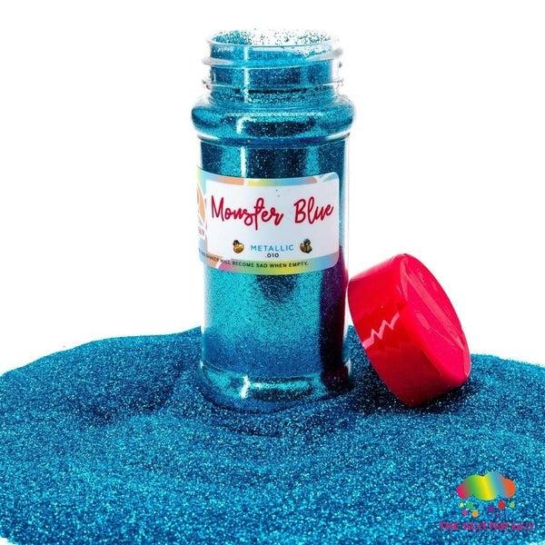 Monster Blue Fine Glitter - The Glitter Guy