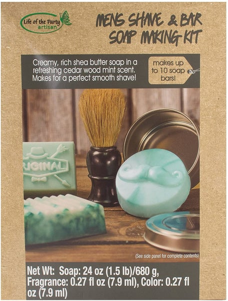 Men's Shave & Bar Soap Kit
