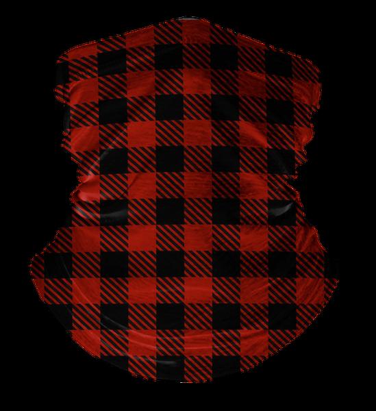 Neck Gaiter Lumberjack Plaid, Face Cover