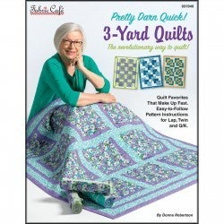 Fabric Cafe Pretty Darn Quilt 3 Yard Quilt Book