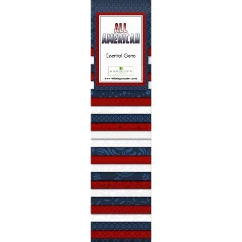 Quilting Strip Packs- Essential Gems, All American