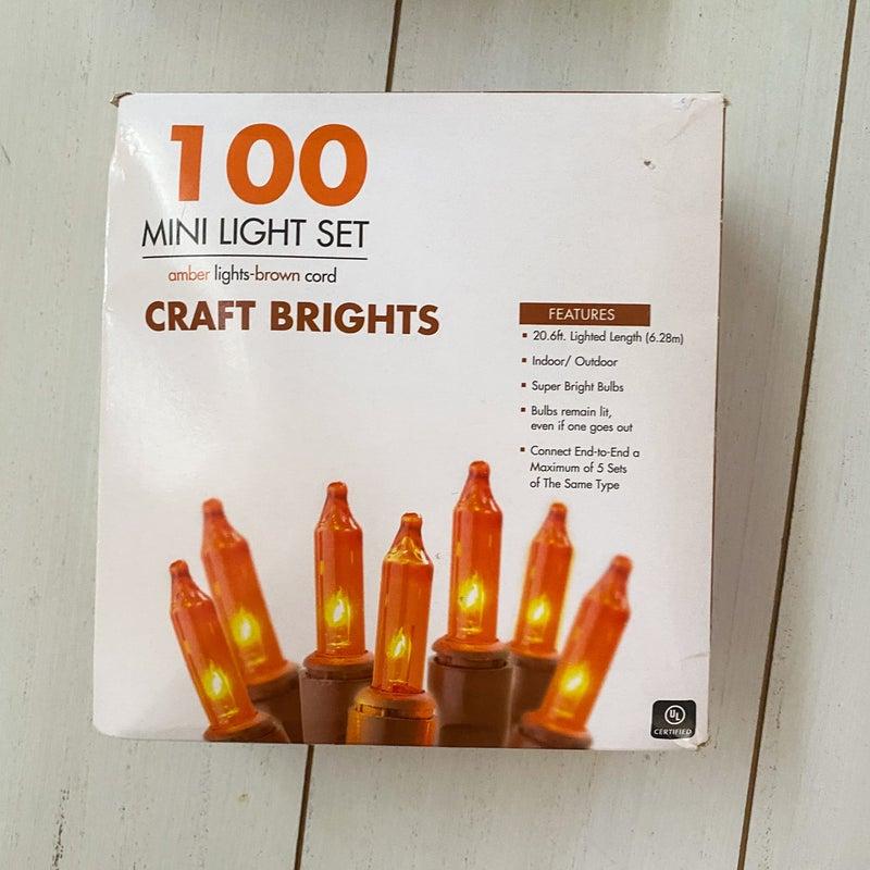 100ct Craft Bright Lights