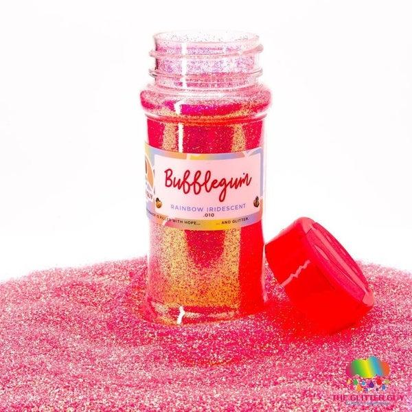 Bubblegum Rainbow Iridescent Fine Glitter - The Glitter Guy