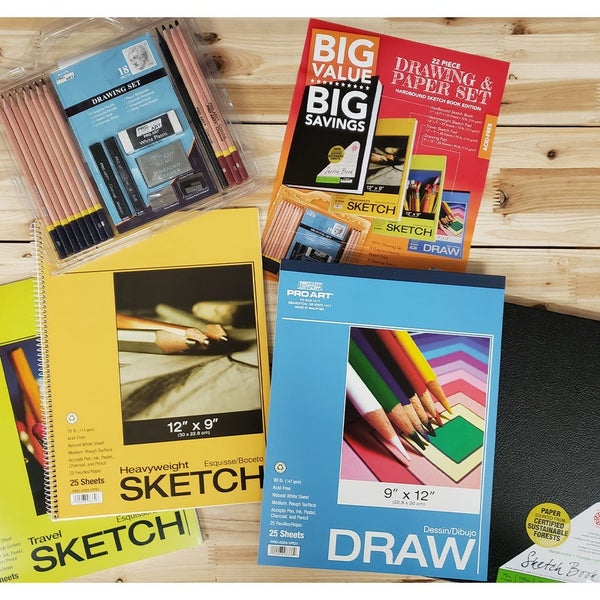 Big Value Drawing & Sketch Bundle #2