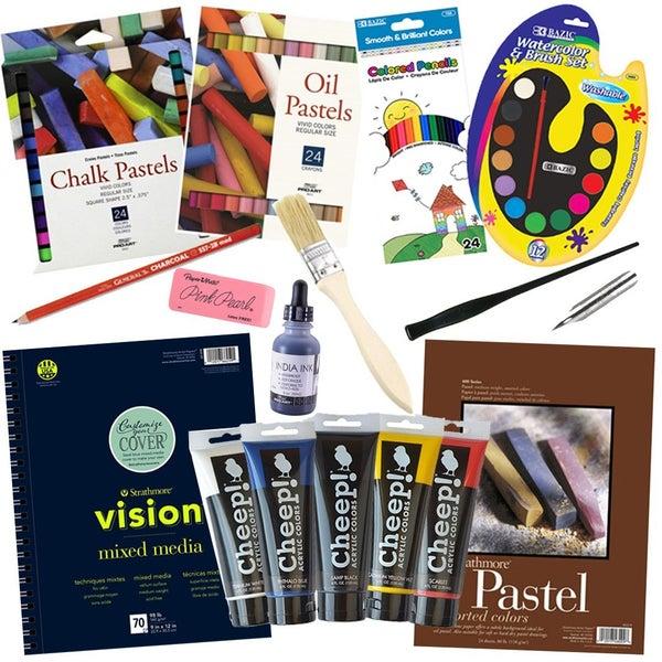 Art for Kids School Class Supply Kit - PREBUY