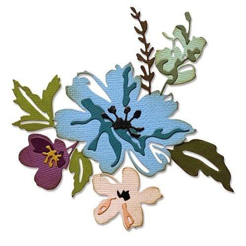 BRUSHSTROKE FLOWERS #2 TIM HOLTZ