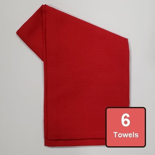 Cardinal Cotton Tea Towels 6pc