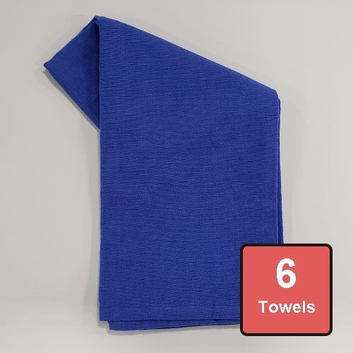 Blueberry Cotton Tea Towels 6pc