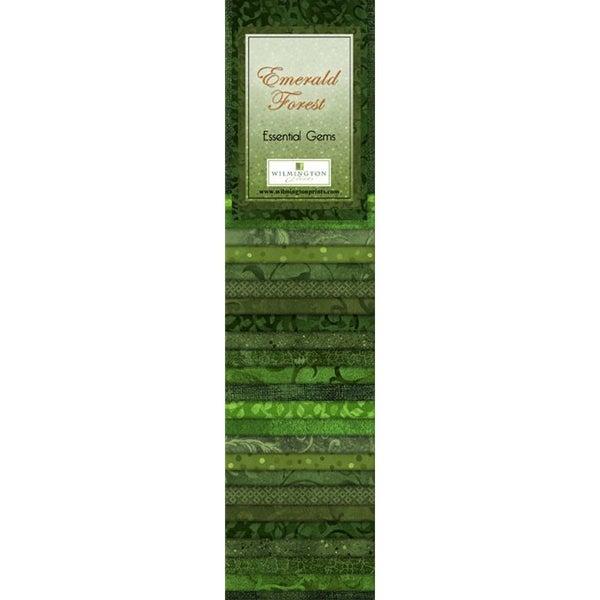 Quilting Strip Packs- Essential Gems, Emerald Forest