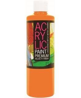Student Acrylic Paint 16oz, Orange