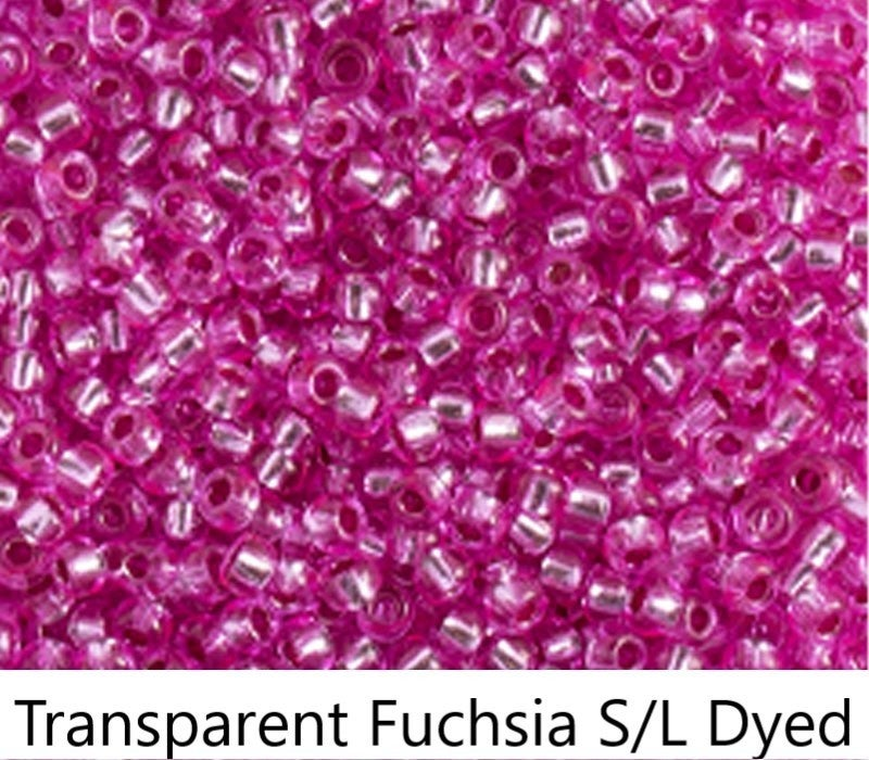 11/0 Czech Glass Seed Bead, Tube (choose from 21 colros)