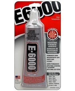 E6000 Clear Adhesive, 2 oz.
