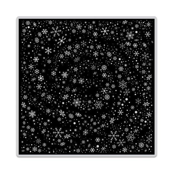 Snowflake Swirl Bold Print Stamp
