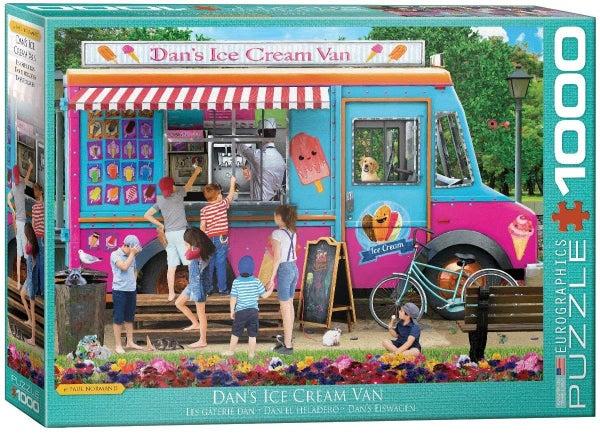 Dan's Ice Cream Van by Paul Normand