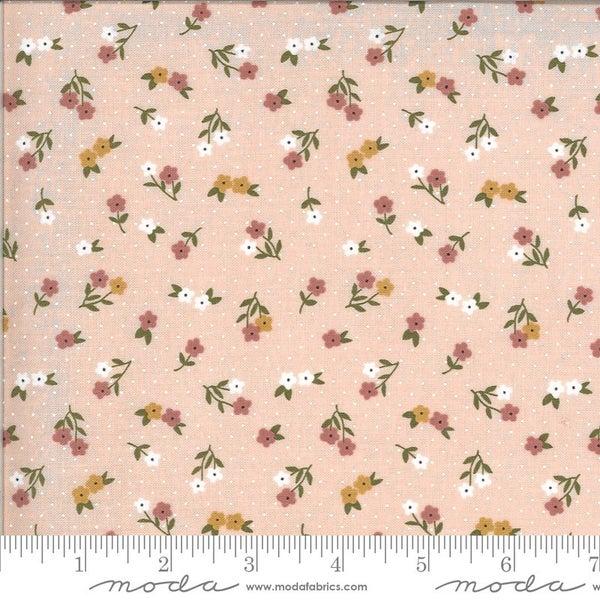 1 Yard Cut - Folktale Posie Gathering Petal Pink - MODA Fabrics