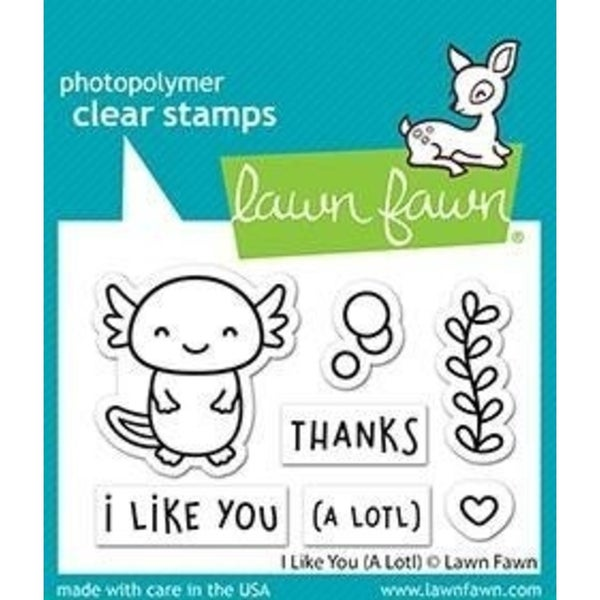 Lawn Fawn I Like You (A LOTL) Clear Stamps