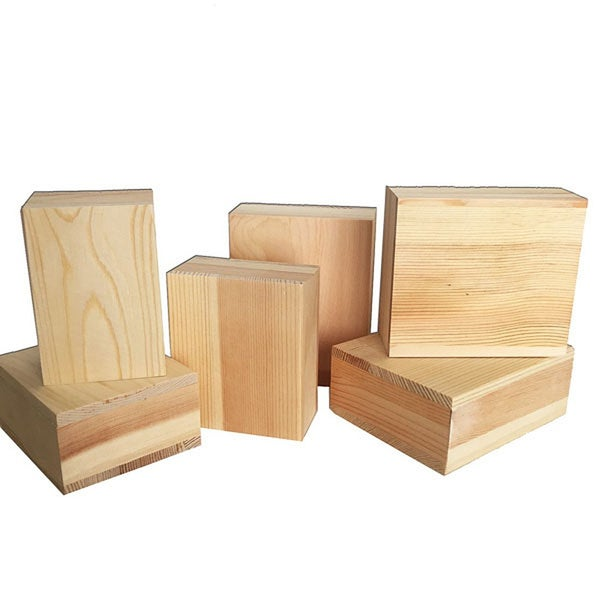6 pc Wood Block Set