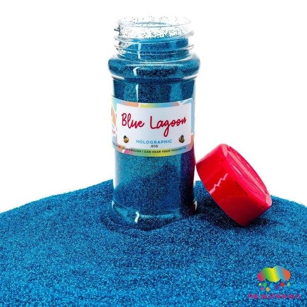 Blue Lagoon Holographic Fine Glitter - The Glitter Guy