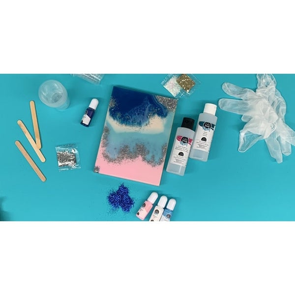 Abstract Resin Class 101- Virtual 1-13-2021