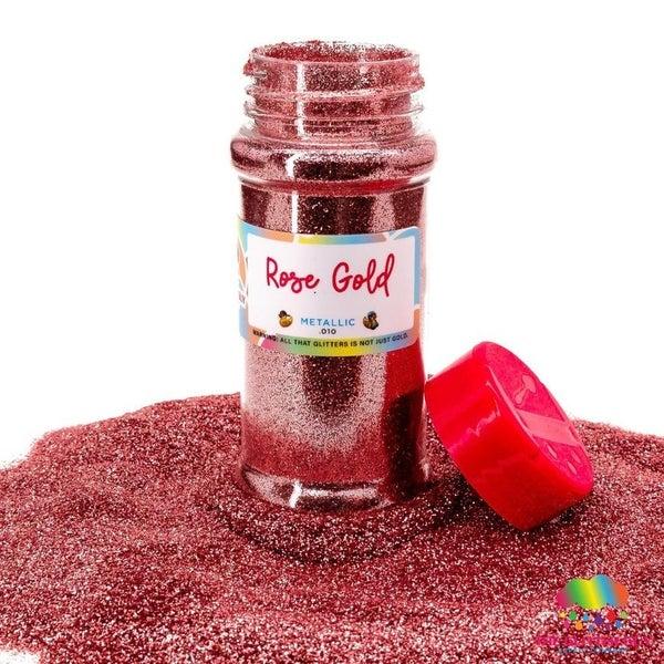 Rose Gold Fine Glitter - The Glitter Guy