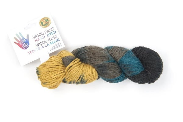 Lion Brand, Wool-Ease® Hand Dyed Yarn- Salted Caramel
